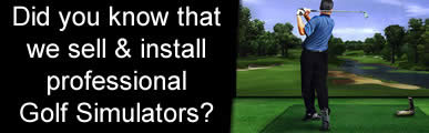 Avensys Golf Simulator